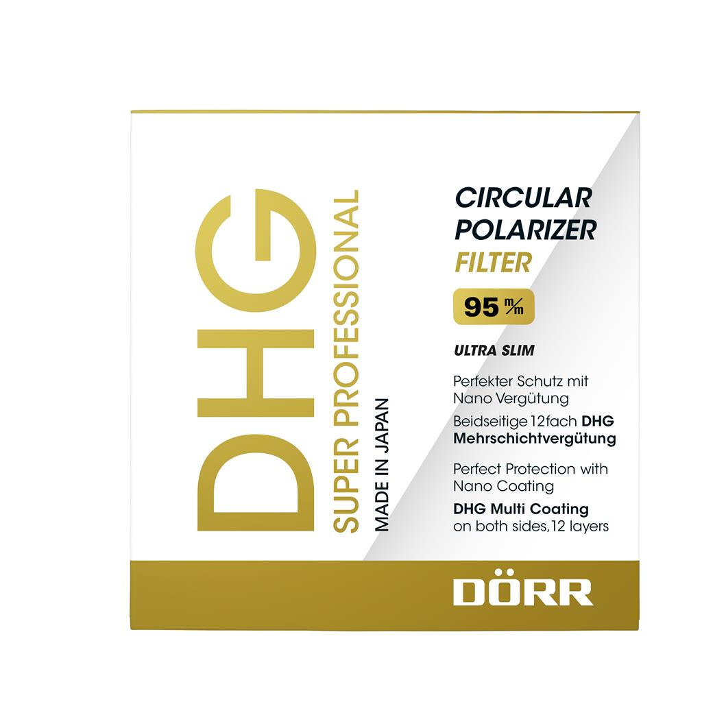 DHG Super Zirkular Polfilter 95mm