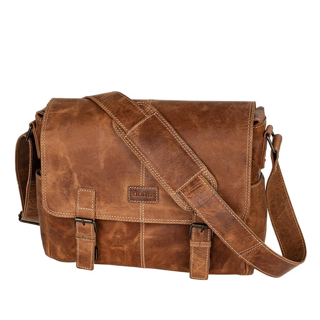 Leather Bag Kapstadt medium cognac | Dörr GmbH