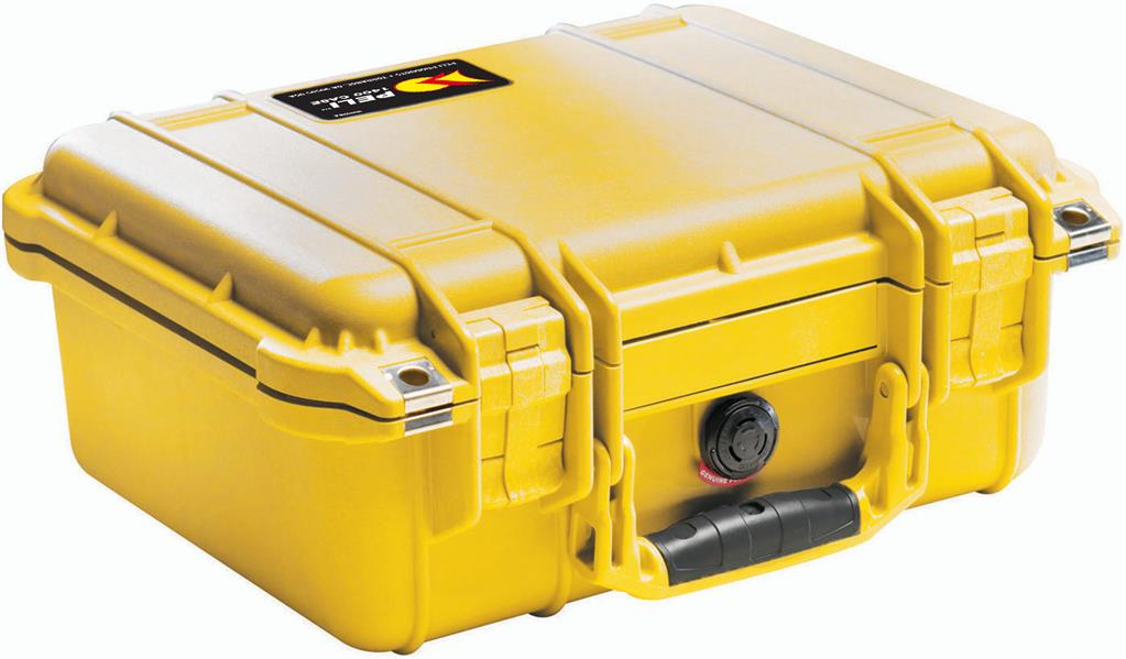 Case 1400 yellow without foam