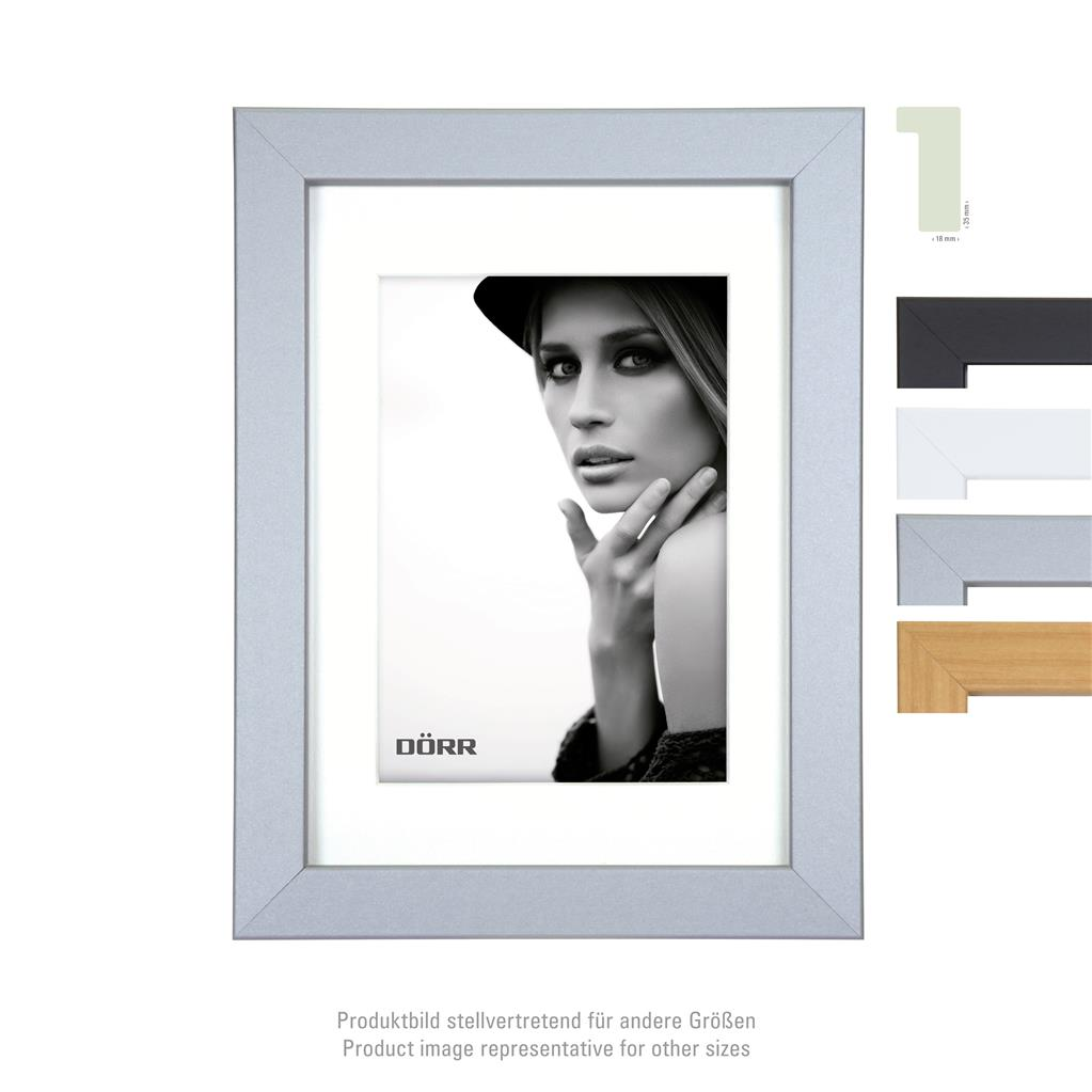 Bloc Wooden Frame  15x20 silver