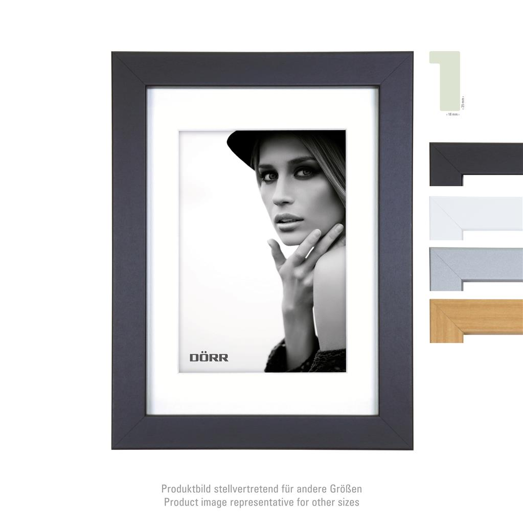 Bloc Wooden Frame  30x40 black