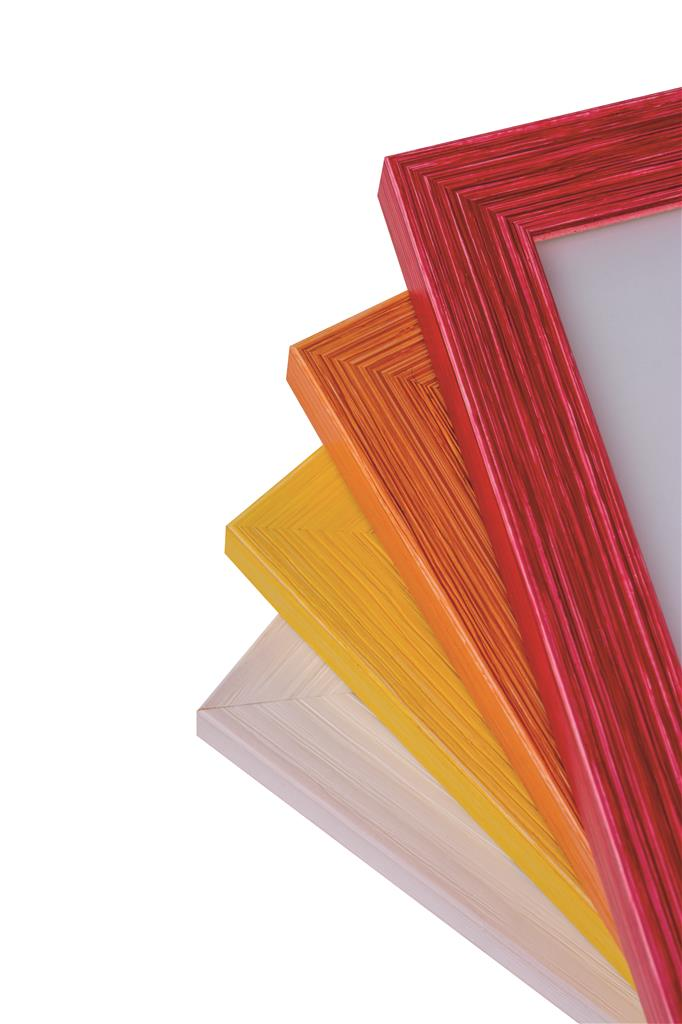 Rainbow Wooden Frame 13x18 red