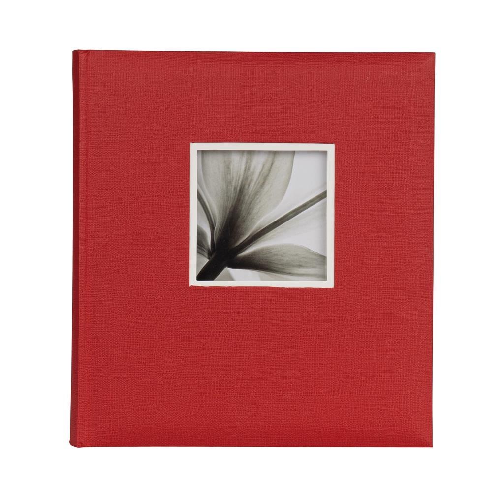 Jumbo Album 600 UniTex 29x32 cm red