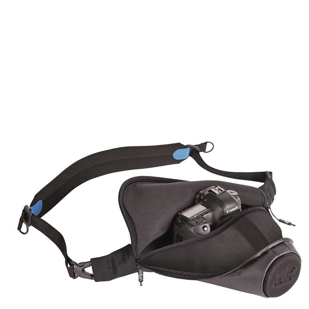 DSLR PRO Holster Agua Stormproof 45 black/ blue