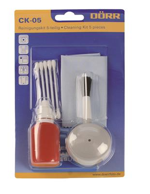 Cleaning Kit with 5 Components in Blister
