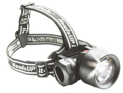 LED head torch HeadsUp Recoil Mod. 2680C, black