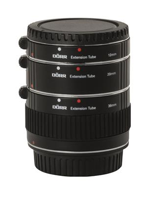 Extenstion Tube Set 12/20/36mm Canon EOS