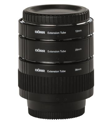 Extenstion Tube Set 12/20/36mm Nikon
