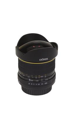 Fisheye Lens 8mm F/3,5 for Canon EOS