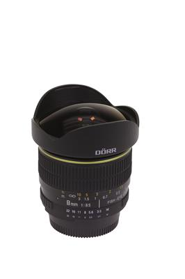 Fisheye Lens 8mm F/3,5 for Nikon