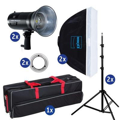 Studio Set DMF-480 mit LS, SB QFSB-7575, Trolley