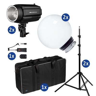 Studio Kit DFX-250 w/ LS, Diffusor Ball, Bag