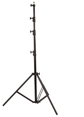 L-3900 Light Stand with Air Cusioning, black
