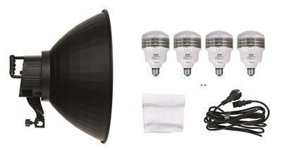DL-400 Continuous Light with  4x25W LED single