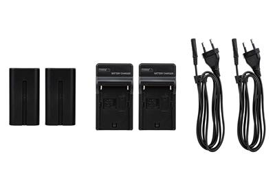 Battery Kit DLP-1000 (Spare NP-F750 + Charger)