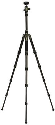 Carbon Tripod HQ-1315 5 sections black/green