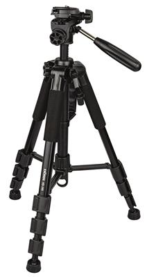 Aluminium tripod HD-140 black