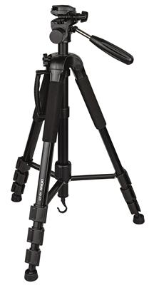Aluminium tripod HD-175 black with monopod