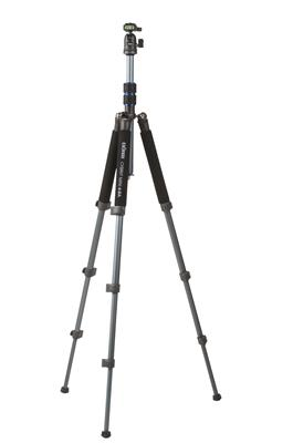 Tripod Cybrit Mini 4-BA steel grey