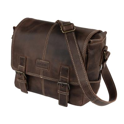 Leder Fototasche Kapstadt small WIDE vintage brown