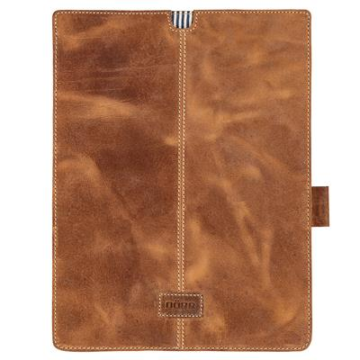 Leather Tablet Sleeve Kapstadt large cognac