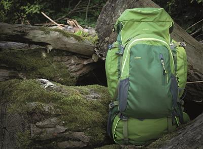 Outdoor Pro 65 + Pro 15 Backpack Duo green