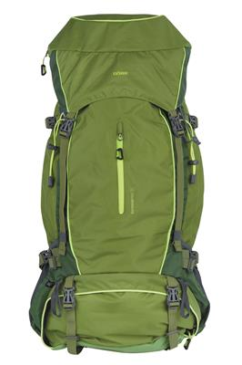 Backpack Outdoor Pro 65 + Pro 15 green