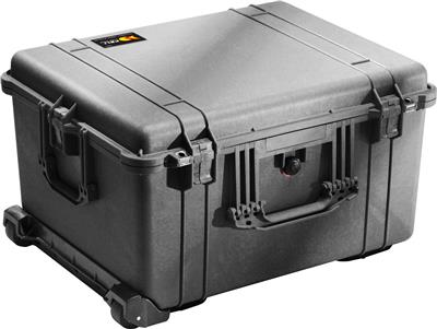 Case 1624 with Dividers, black