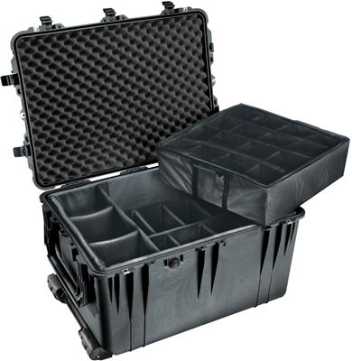 Case 1664 with Dividers, black