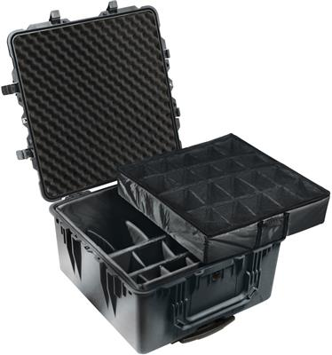 Case 1644 with Dividers, black