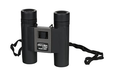 Pocket binocular-40 10x25 black/metallic grey