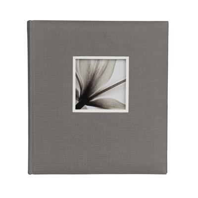 Jumbo Album 600 UniTex 29x32 cm grey