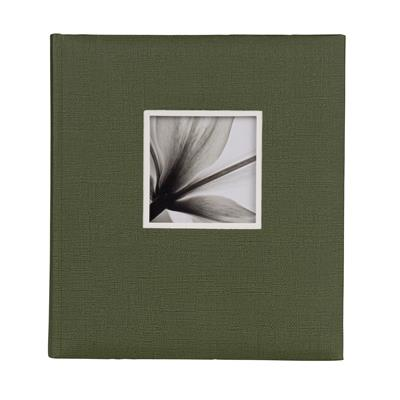 Jumbo Album 600 UniTex 29x32 cm green