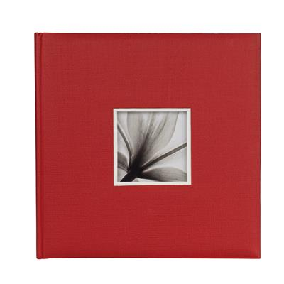 Book Album UniTex 34x34 cm red