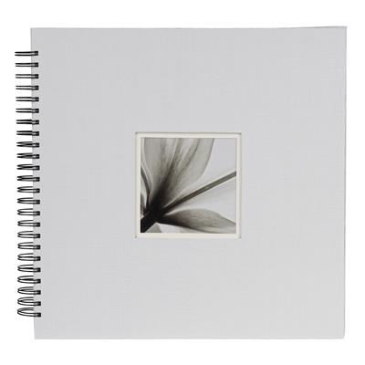 Spiral Album UniTex 34x34 cm white