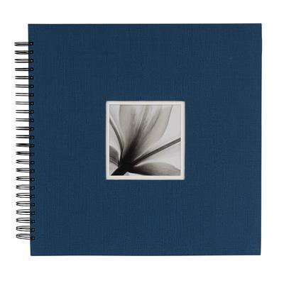 Spiral Album UniTex 34x34 cm blue