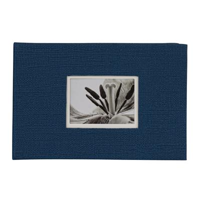 Slip-in Hardcover Album 40 UniTex 10x15 blau