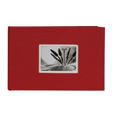 Slip-in Hardcover Album 40 UniTex 10x15 rot