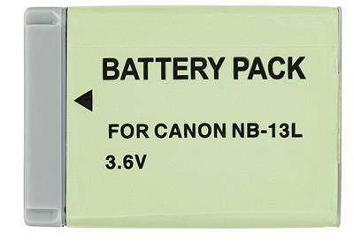 Repl.Li-Ion Battery f.Canon NB-13L (1250mAh, 3.6V)