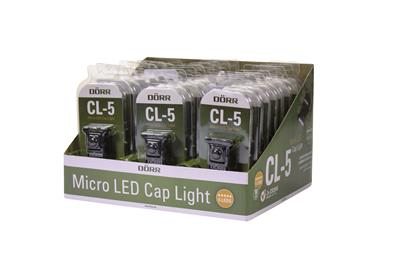 Micro LED Cap Light CL-5 Display 24 Stück