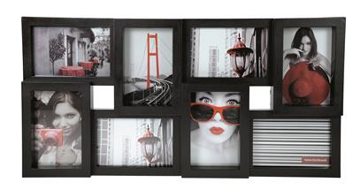 Retro Plastic Frame 8 pictures black