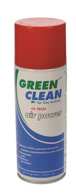 High Tech Air Power Compressed Air, 400ml + Valve